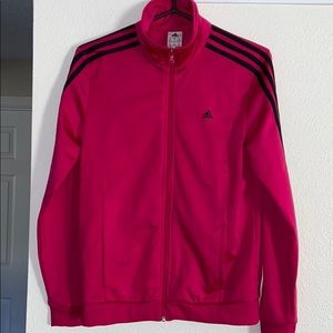 ADIDAS - Hot Pink Track Jacket Size Small